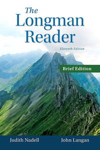 The Longman Reader, Brief Edition (11th Edition) by  John  Judith; Langan - Paperback - 2015-01-10 - from First Coast Books LLC and Biblio.com