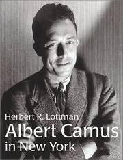 Albert Camus In New York