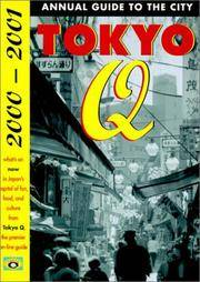 tokyo q 2000 - 2001 annual guide to the city