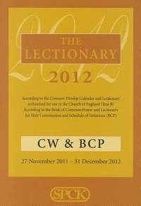 The Lectionary 2012 - Common Worship and Book of Common Prayer