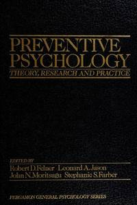 Preventive psychology: Theory, research, and practice