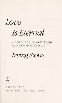 Love Is Eternal by Stone, Irving