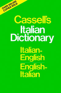 Cassell's Standard Italian Dictionary, Thumb-indexed.