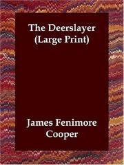 image of The Deerslayer (Large Print)