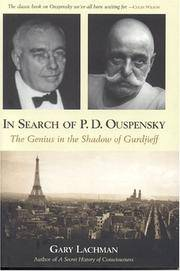 In Search of P.D. Ouspensky : The Genius in the Shadow of Gurdjieff