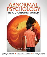 image of Abnormal Psychology in a Changing World (8th Edition)