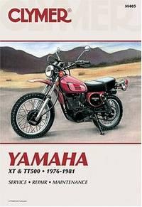 Yamaha XT & TT Singles 76-81 (M405)