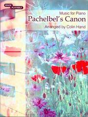 Pachelbel's Canon: Music for Piano