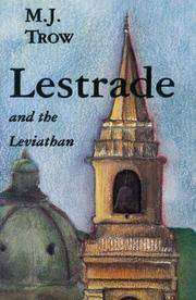 Lestrade and the Leviathan:  Volume IV in the Sholto Lestrade Mystery  Series by  M. J Trow - 1st Edition; 1st Printing - 1999 - from Mainly Books and Biblio.com