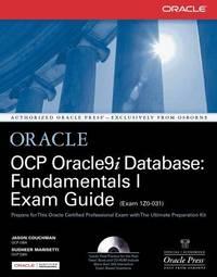 OCP Oracle9i Database: Fundamentals I Exam Guide