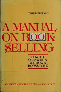 A Manual on BOOKSELLING