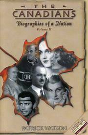 Canadians, the-Biographies of a Nation-Volume II