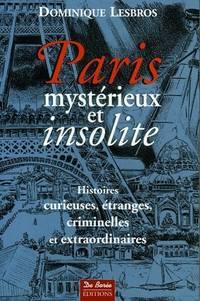 PARIS MYSTERIEUX ET INSOLITE
