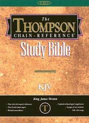 image of Thompson Chain Reference Bible (Style 539burgundy) - Handy Size KJV - Bonded Leather