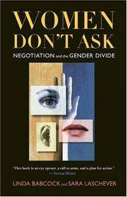 Women Don't Ask: Negotiation and the Gender Divide by  Sara  Linda and Laschever - Hardcover - Hardcover - from Paddyme Books and Biblio.com