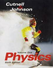 Physics Volume 1, Chapters 1-17, 6ty Edition by  Kenneth W  John D.; Johnson - Paperback - 6th Edition - 2003 - from A2zbooks and Biblio.com