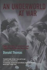 image of An Underworld at War : Spivs, Deserters, Racketeers and Civilians in the Second World War