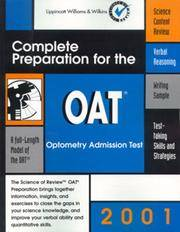 OAT: Complete Preparation for the Optometry Admission Test