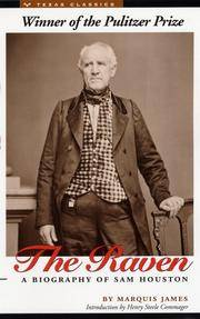image of The Raven: A Biography of Sam Houston