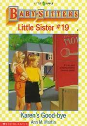 image of Bsls #19: Karen's Good-bye (Baby-Sitters Little Sister)