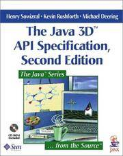 The Java 3d Api Specification by  Michael Deering  Kevin Rushforth - 2 - Jun 2000 - from Redwood Bookstore (SKU: 1053)