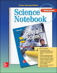 Georgia Science Grade 8, Science Notebook, Teacher Annotated