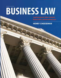image of Business Law (8th Edition)