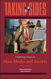 TAKING SIDES:...MASS MEDIA+SOCIETY