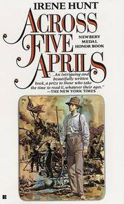 Across Five Aprils by  Irene Hunt - Paperback - 1986 - from Inklings Bookshop and Biblio.com