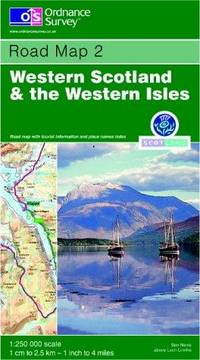 Western Scotland and the Western Isles (Road Map)