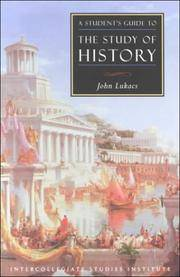 A Student's Guide To Study Of History