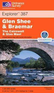 image of Glenshee and Braemar: The Cairnwell and Glas Maol (OS Explorer Map)