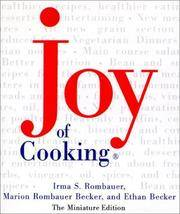 Joy of Cooking, Miniature Edition