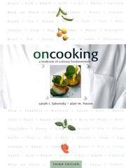 On Cooking: A Textbook of Culinary Fundamentals (3rd Edition) by  Alan M  Sarah R.; Hause - Hardcover - from Georgia Book Company and Biblio.com