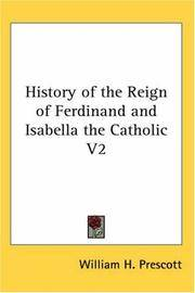 image of History of the Reign of Ferdinand and Isabella the Catholic V2