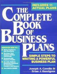 Complete Book Of Business Plans, The