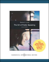 Art of Public Speaking by Stephen E. Lucas - Paperback - 2011-08-05 - from Books Express and Biblio.com