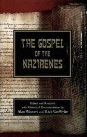 The Gospel of the Nazirenes (Hardcover)