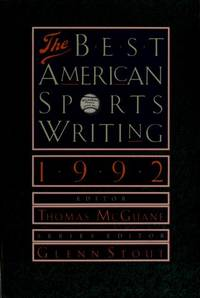 image of The Best American Sports Writing, 1992