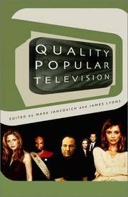 Quality Popular Television by  Mark Jancovich - Paperback - from Better World Books  (SKU: 17147541-6)