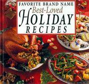 Favorite Brand Name : Best-Loved Holiday Recipes