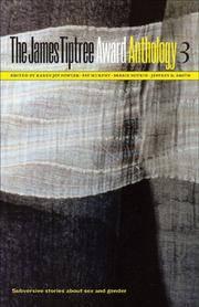 James Tiptree Award Anthology vol. 3
