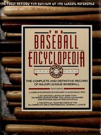 The Baseball Encyclopedia: The Complete and Definitive Record of Major League Baseball