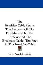 The Breakfast-Table Series