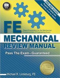 Fe Mechanical Review Manual: Rapid Preparation for the Mechanical