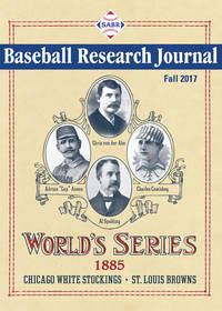 Baseball Research Journal, Fall 2017 (Volume 46, No. 2)