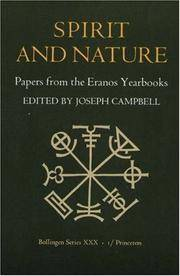 Spirit and Nature: Papers from the Eranos Yearbooks (Bollingen Series XXX)