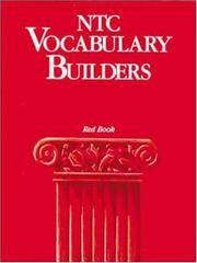 NTC Vocabulary Builders, Red Book - Reading Level 9.0