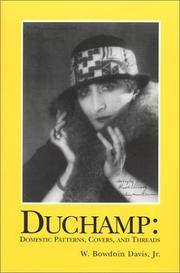image of Duchamp: Domestic Patterns, Covers, and Threads