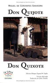 Don Quijote / Don Quixote (Book & MP3 CD) (English and Spanish Edition)